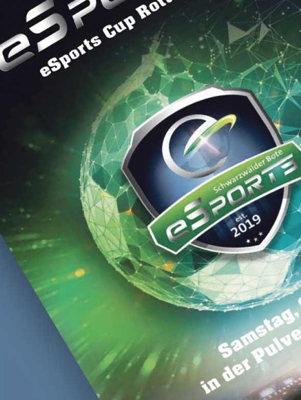 Keyvisual eSports Rottweil