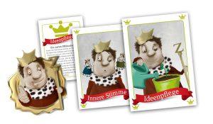 Karten mit Kinder-Illustrationen Erlkönig-Motive