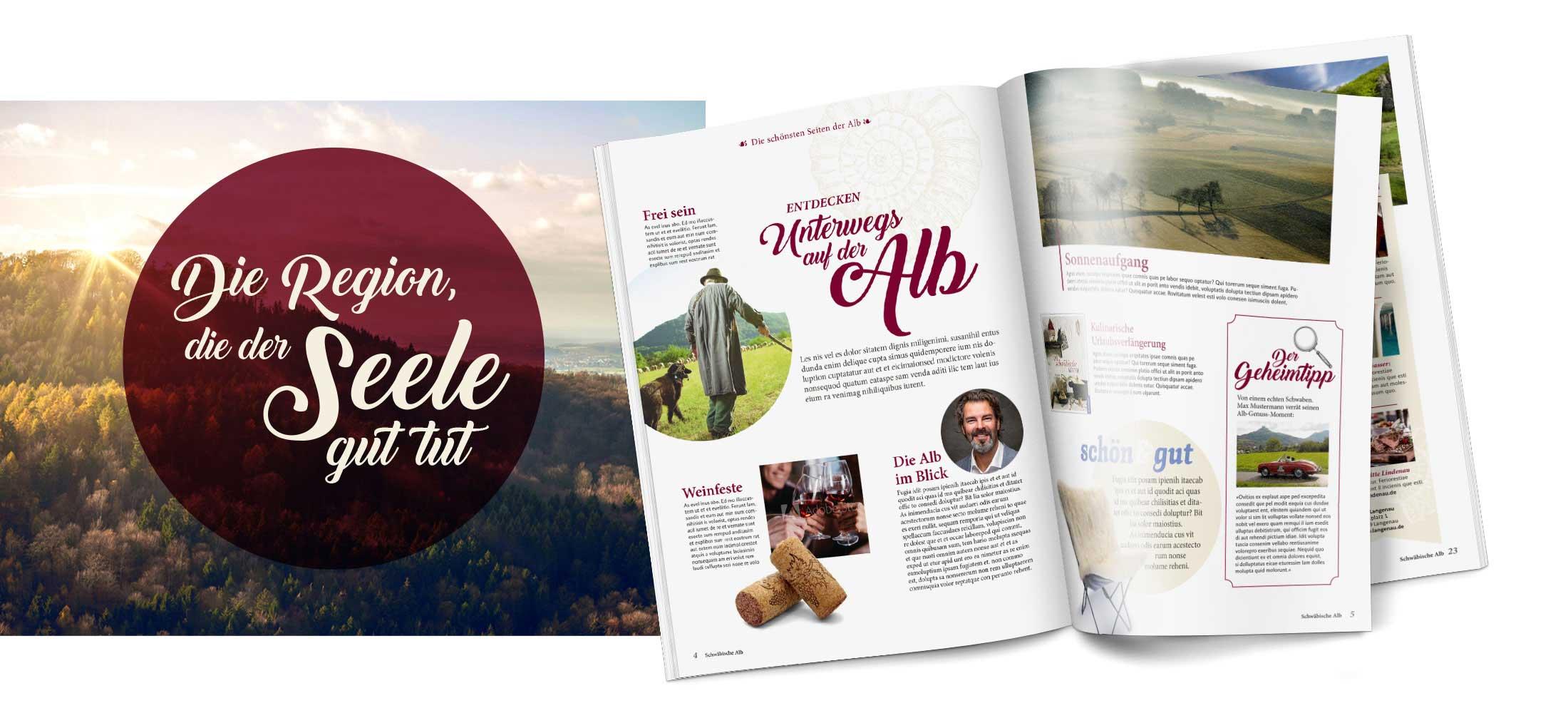 Magazin Gästezeitung Schwäbische Alb Formschön GmbH