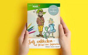 Malbuch Sulz Salzdrache Titelseite