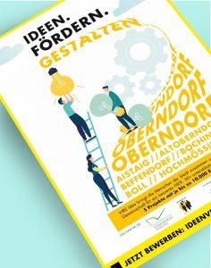 Detail aus Plakat Ideen. Fördern. Gestalten.